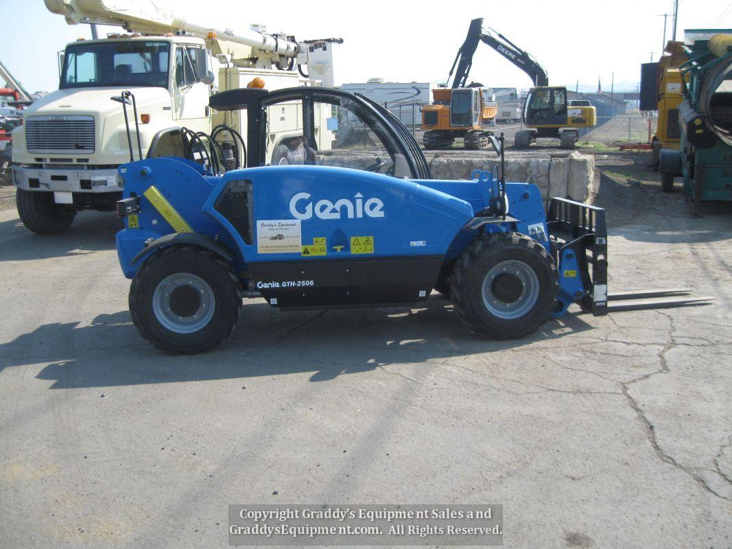 2018 GENIE GTH-2506 FORKLIFT TELESCOPIC TELEHANDLER for Rent, Oregon