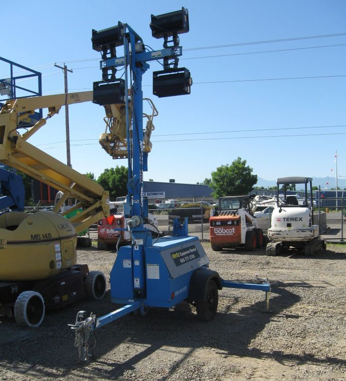 Light Tower Sales: Heavy Equipment For Rent Oregon